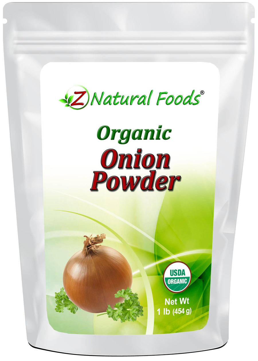 Onion Powder - Organic Herb & Root Powders Z Natural Foods