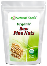 Pine Nuts - Organic Raw Nuts & Seeds Z Natural Foods