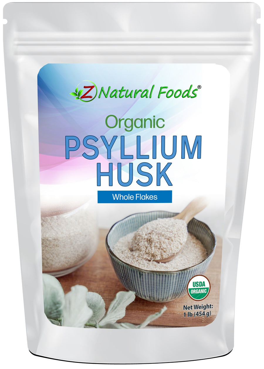 Psyllium Husk (Whole Flakes) - Organic Nuts & Seeds Z Natural Foods