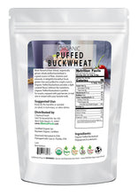 Puffed Buckwheat - Organic Nuts & Seeds Z Natural Foods