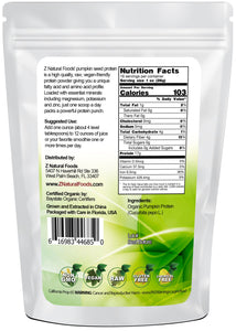 Pumpkin Seed Protein - Organic Proteins & Collagens Z Natural Foods