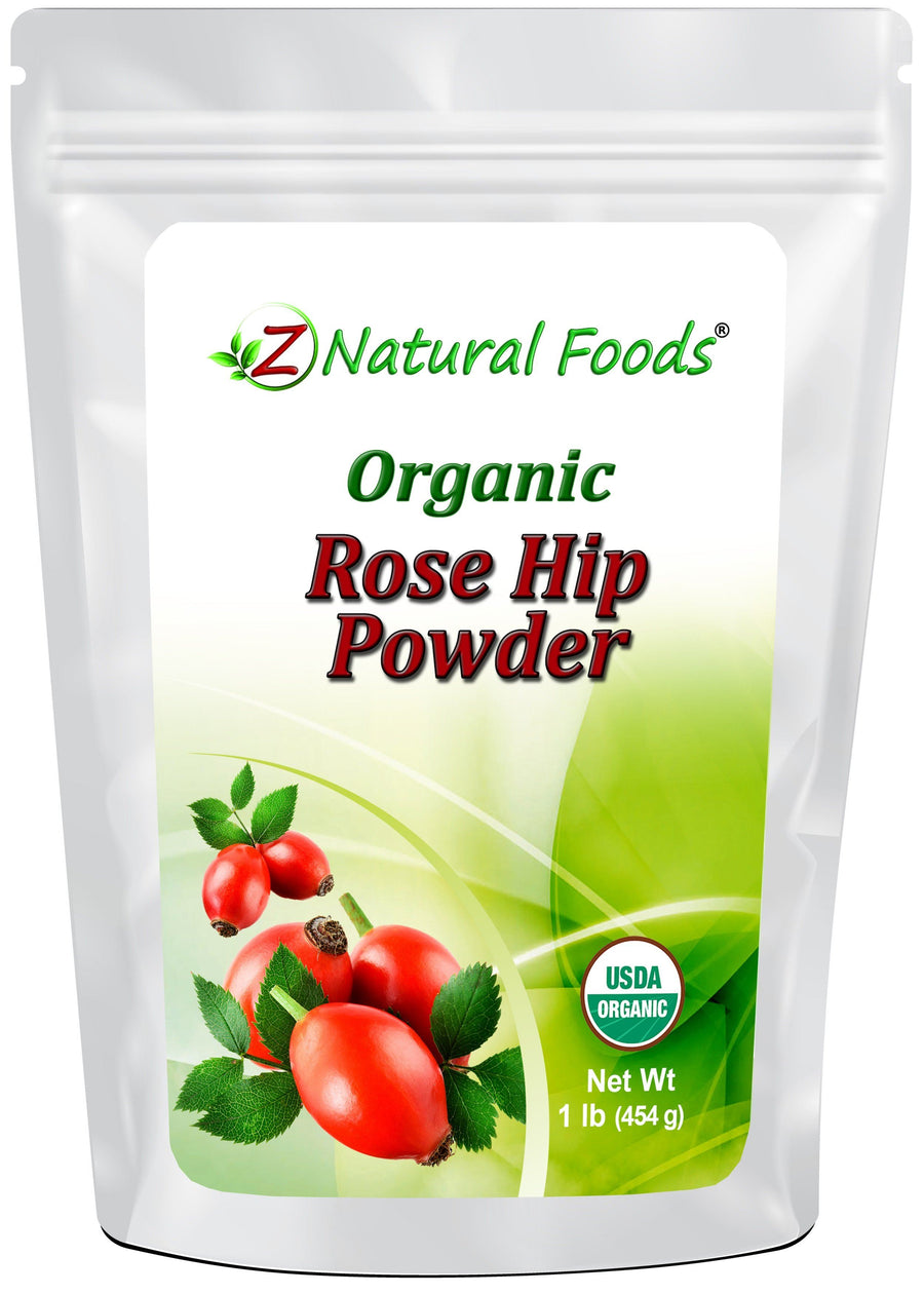 Rose Hip Powder - Organic Fruit Powders Z Natural Foods