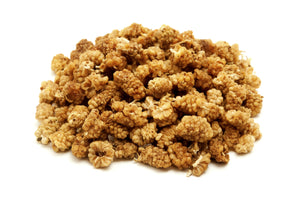 Sun Dried White Mulberries - Organic Dried Fruit & Berries Z Natural Foods