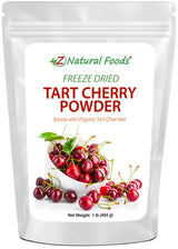 Tart Cherry Powder - Freeze Dried Fruit Powders Z Natural Foods