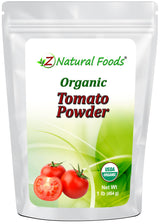 Tomato Powder - Organic Vegetable, Leaf & Grass Powders Z Natural Foods