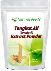 Tongkat Ali Root Extract Powder (Longjack) Herb & Root Powders Z Natural Foods