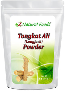 Tongkat Ali Root Powder (Longjack) Herb & Root Powders Z Natural Foods
