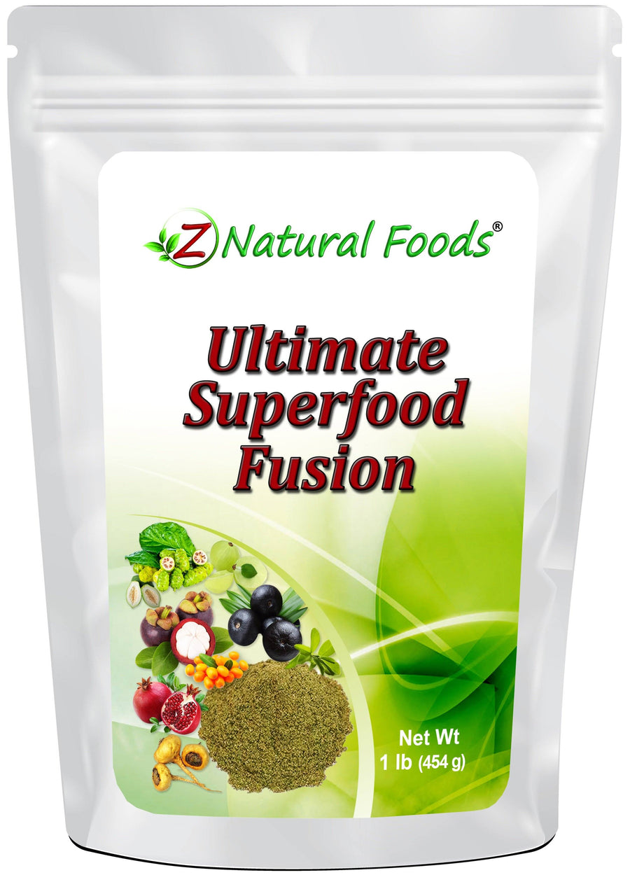 Ultimate Superfood Fusion Vegetable, Leaf & Grass Powders Z Natural Foods