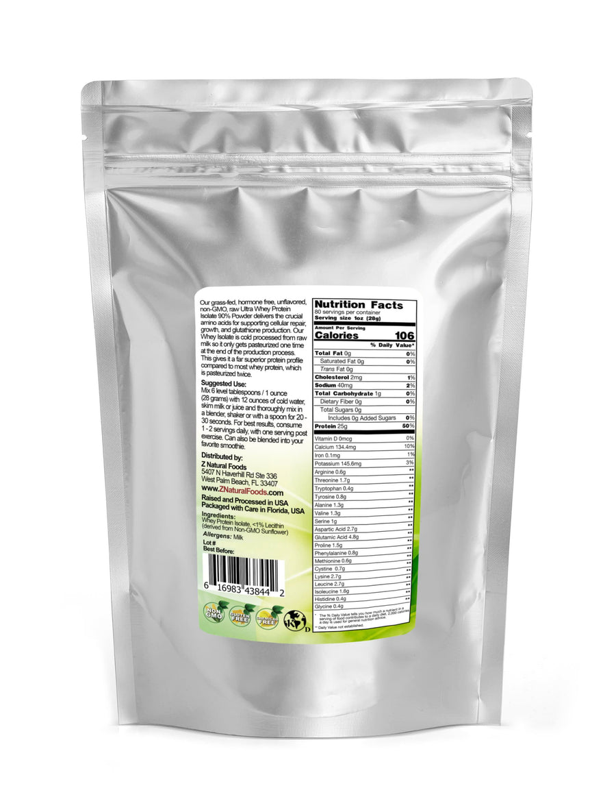 Ultra Whey Protein Isolate Protein Powders Z Natural Foods