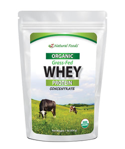 Whey Protein Concentrate - Organic Proteins & Collagens Z Natural Foods