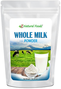 Whole Milk Powder Proteins & Collagens Z Natural Foods