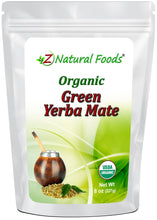 Yerba Mate Tea Green - Organic Organic Tea Z Natural Foods