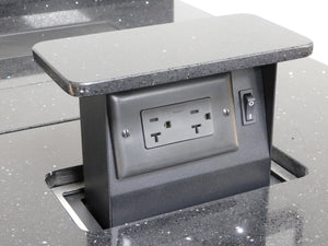 "SBOXMINI-CT2-20a - 2 Outlet - ""Chameleon"" Top - 20a"