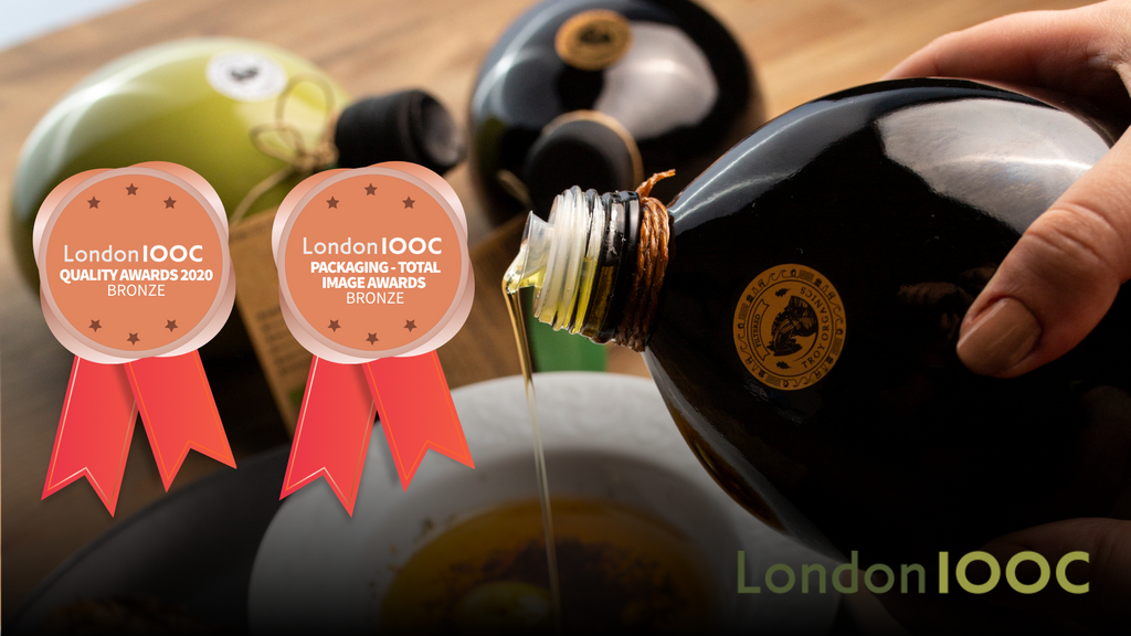 Troy Organics won two bronze awards at London INTERNATIONAL OLIVE OIL COMPETITIONS 2020
