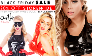 Latex Sale - BLACK FRIDAY - 20% OFF EVERYTHING