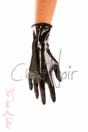 Latex Wrist Gloves ~ Seconds | Chez Noir | Latex Sex Toys, Fetish Wear and More!