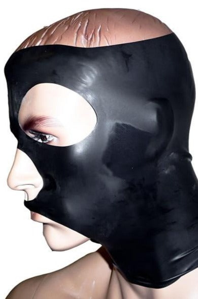 Latex Mask with Open Head | Chez Noir | Latex Sex Toys, Fetish Wear and More!