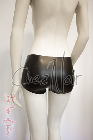 Latex Short Shorts | Chez Noir | Latex Sex Toys, Fetish Wear and More!