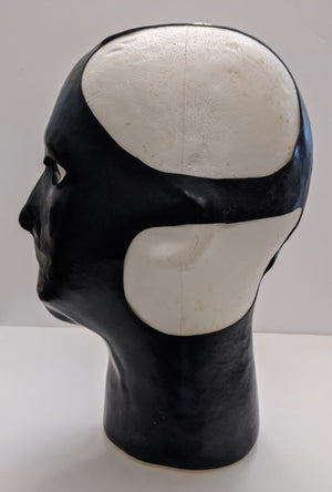 Heavy Weight Latex Anatomical Mask with Open Back & Mouth