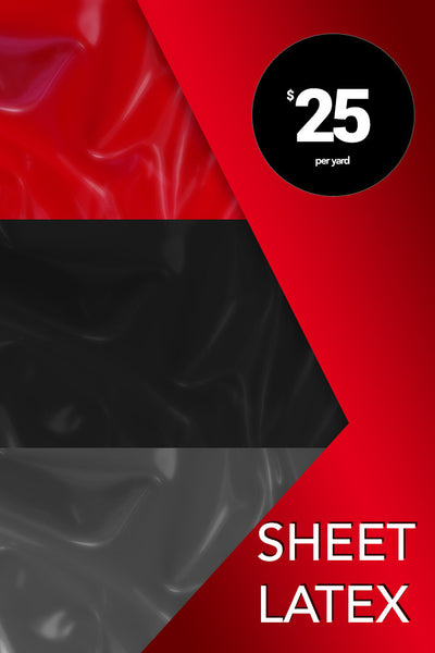 Sheet Latex | Chez Noir | Latex Sex Toys, Fetish Wear and More!