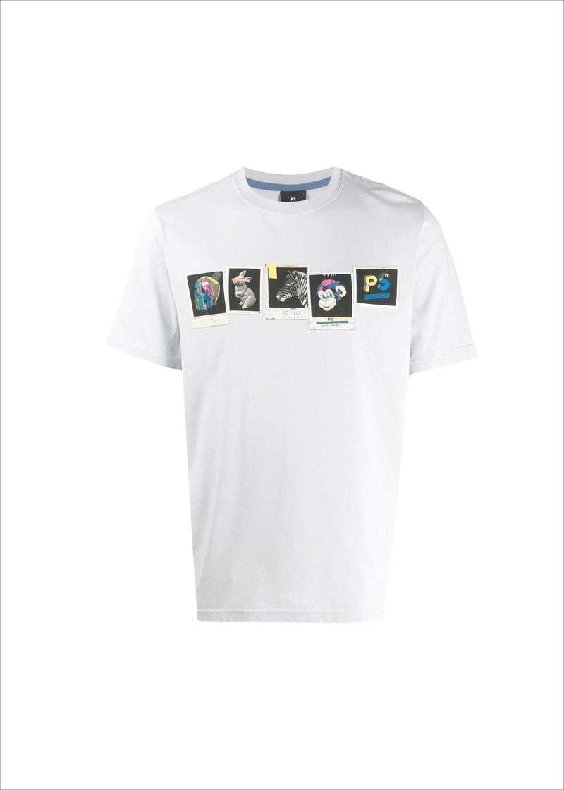 Paul Smith White Organic Cotton T-Shirt