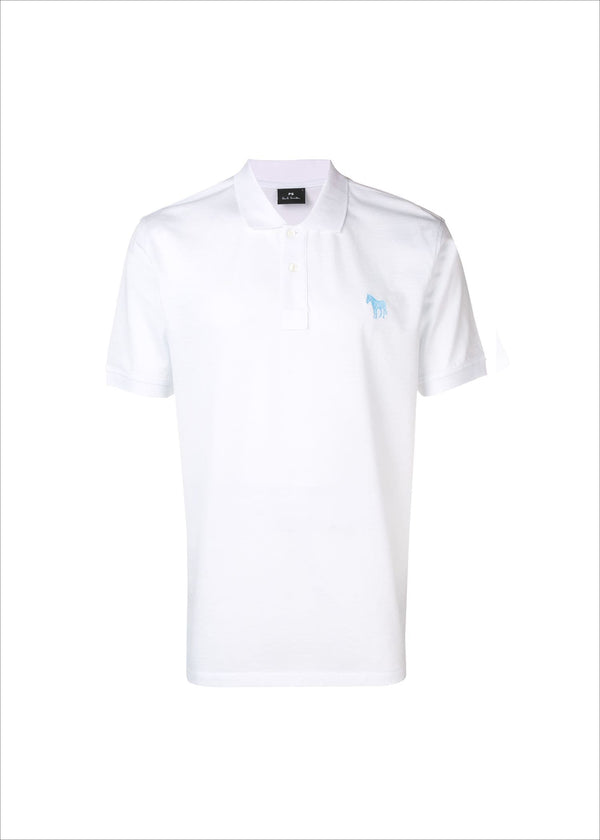 Paul Smith Zebra White Polo Shirt