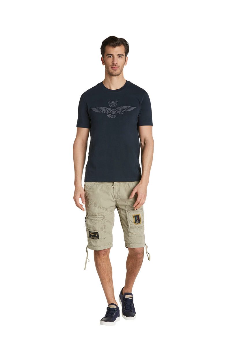 Aeronautica Eagle Navy T-Shirt