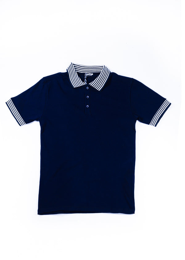 Paul Miranda Classic Navy Polo Shirt