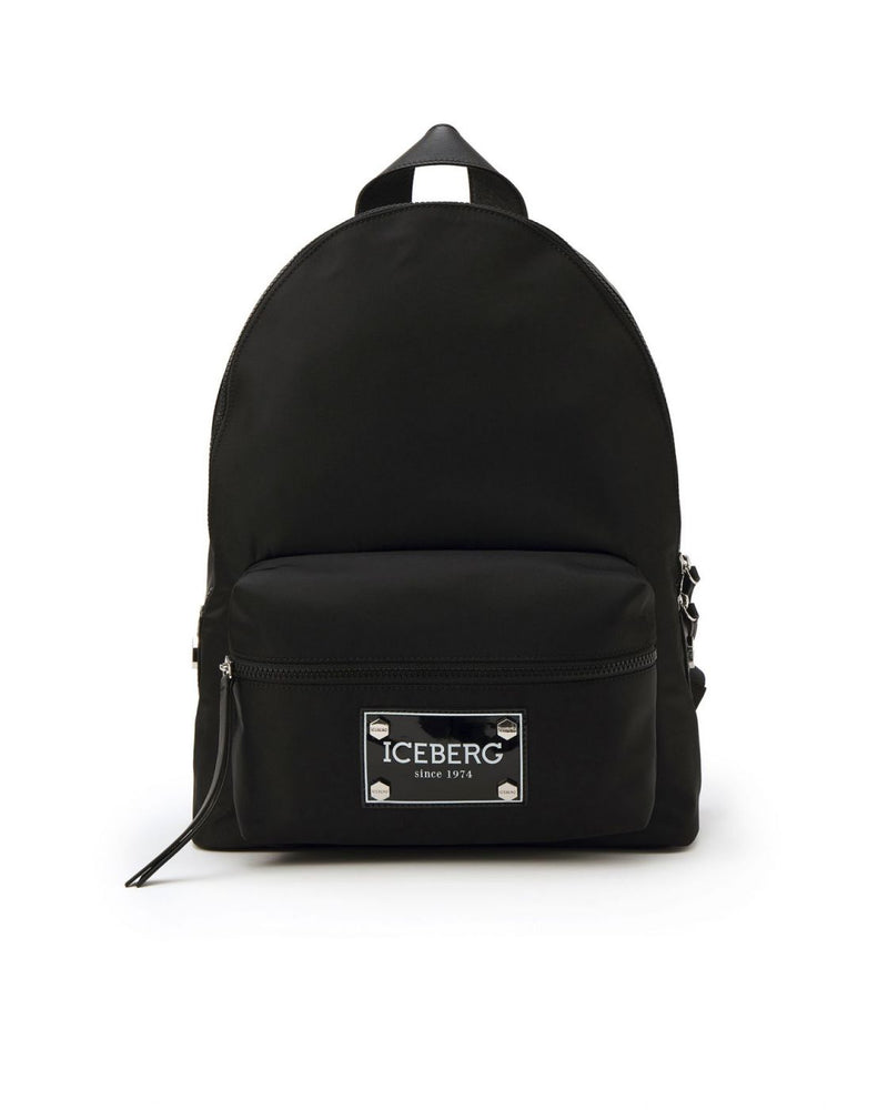 Iceberg Black Backpack