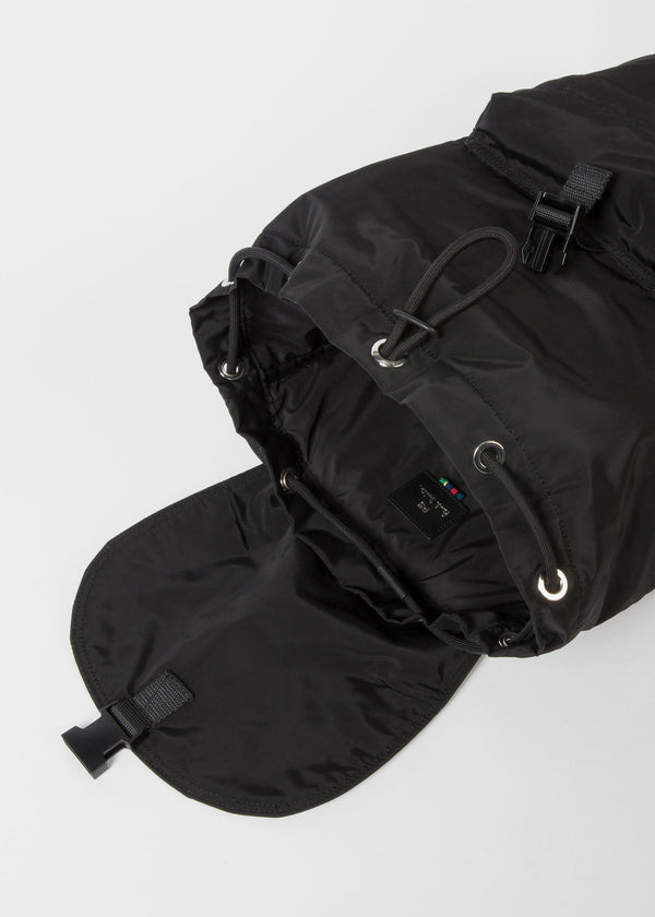 Paul Smith Zebra Logo Canvas Backpack