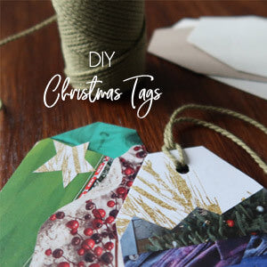 DIY Recycled Gift Tags