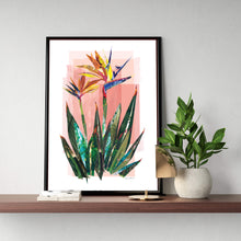 Load image into Gallery viewer, Bird Of Paradise Poster ǀ Tropical Interior Decor