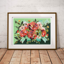Load image into Gallery viewer, Coral Peony A2 Poster ǀ Floral Wall Art