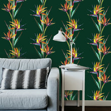 Load image into Gallery viewer, Bird Of Paradise- original wallpaper designs by J. D. Pepp