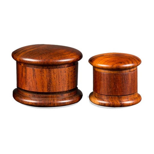 "3.0"" (75mm) 3 Piece Wooden Grinder - SeshPack"