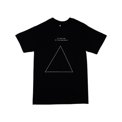 Higher Standards T-Shirt - Embroidered Triangle - SeshPack