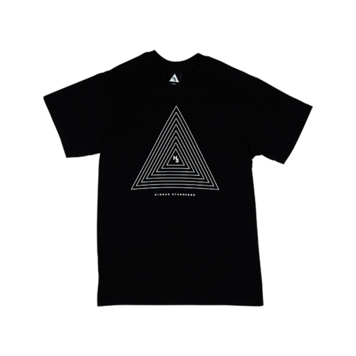 Higher Standards T-Shirt - Concentric Triangle - SeshPack
