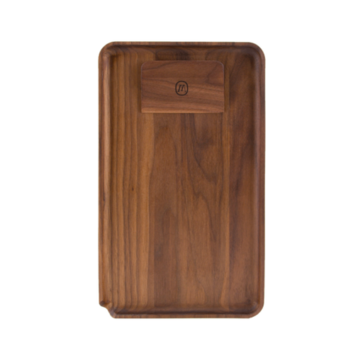 Marley Natural Black Walnut Rolling Tray - SeshPack