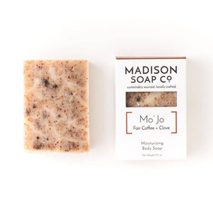 "Organic Soap ""MoJo"" - Coffee + Clove Exfoliating"