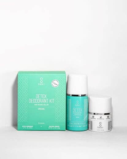 Detox Deodorant Kit - Original Sensitive Skin Formula