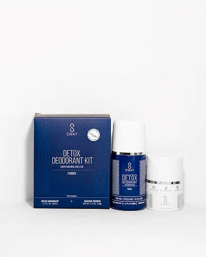 Detox Deodorant Kit - Timber Sensitive Skin Formula