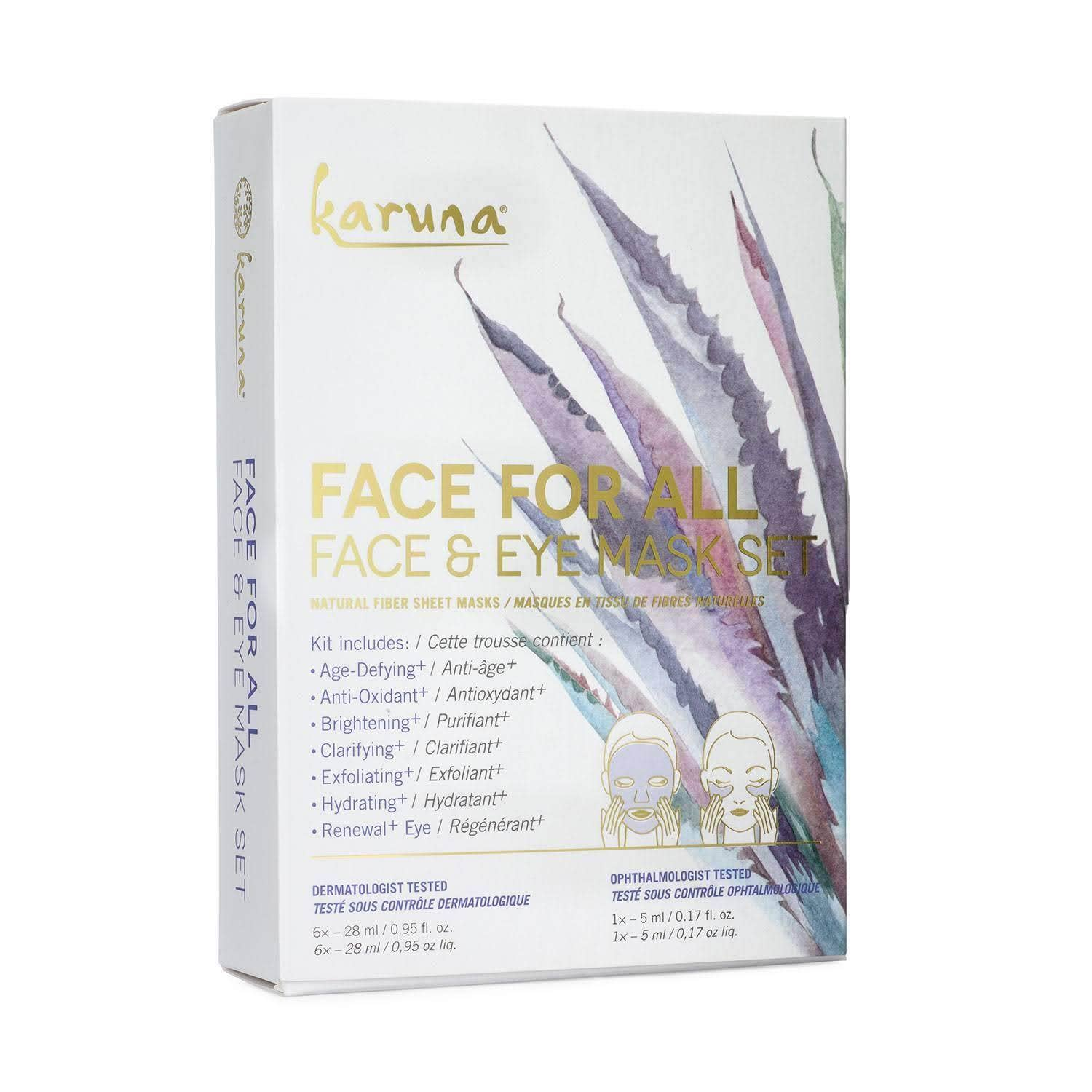 Masks for All Face and Eye Mask Set