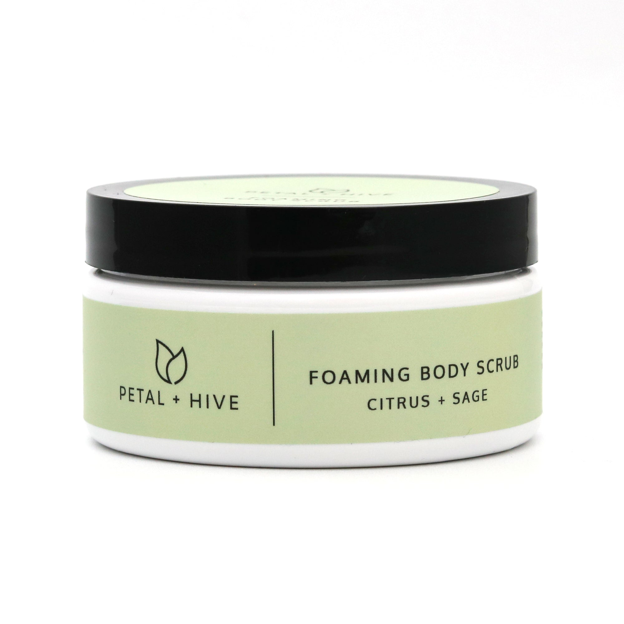 Citrus + Sage Foaming Body Scrub