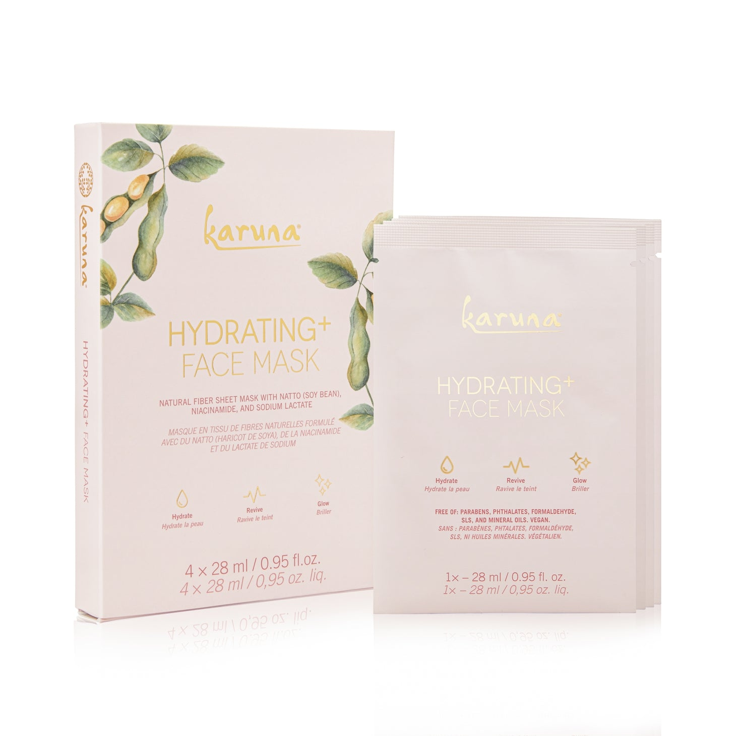Hydrating Face Mask - 4 Pack
