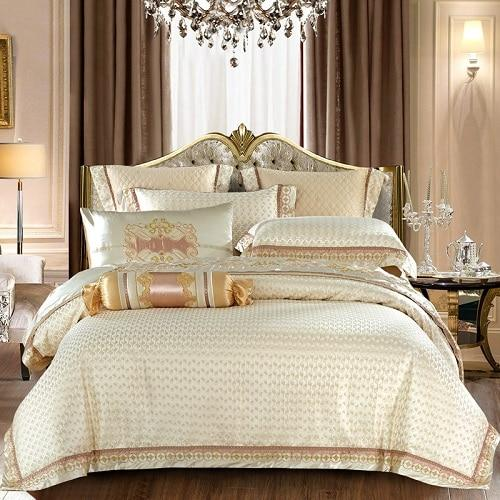 Bartedo Silk Satin Luxury Royal Duvet Cover Set - Find Home Supplies