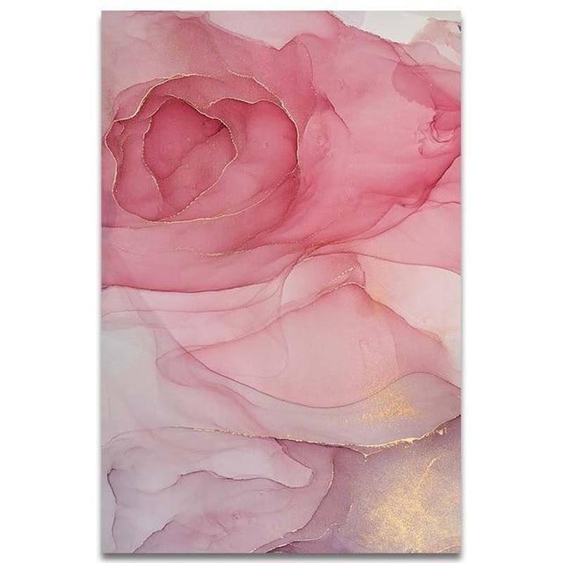 Beautiful Colorful Petals Wall Poster - Find Home Supplies