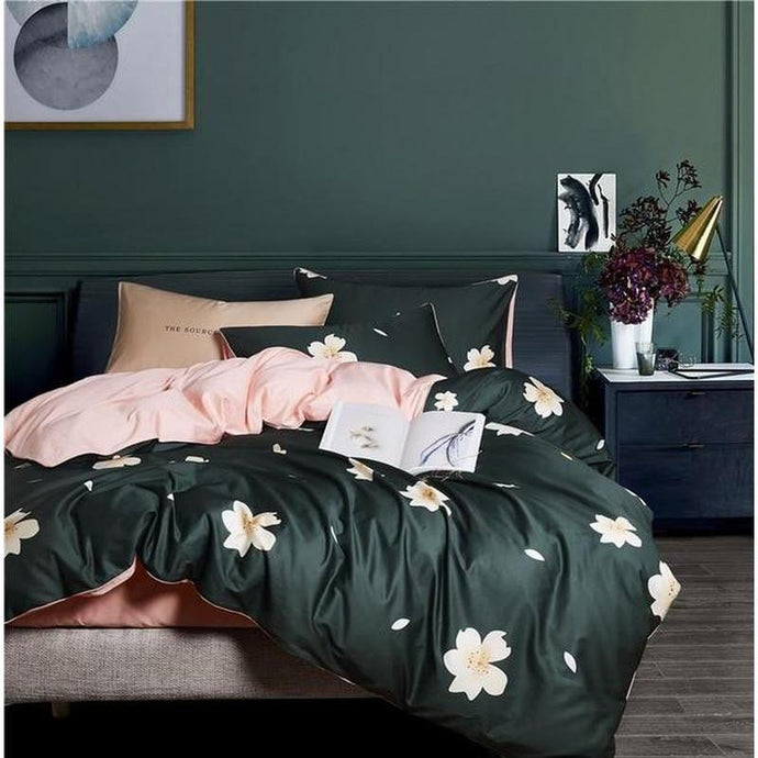Blissful Bloom Duvet Cover Set - Find Home Supplies