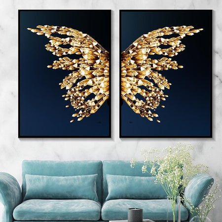 Butterfly Wings Wall Poster - Find Home Supplies