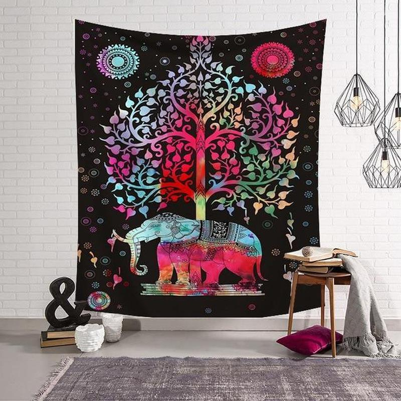 Chakra Bohemian Wall Hanging Tapestry (14 Patterns) - Find Home Supplies