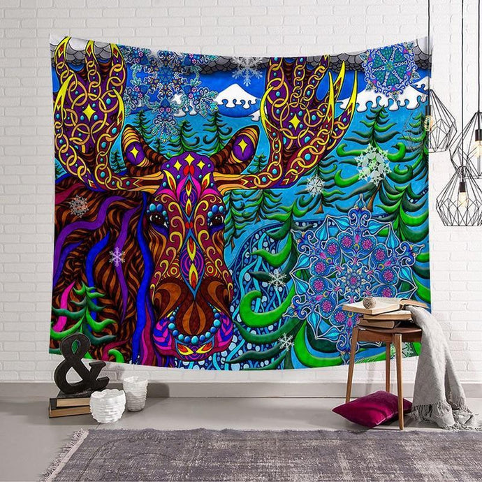 Creative Pattern Wall Hanging Tapestry (7 Patterns) - Find Home Supplies